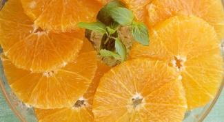 Как нарезать апельсин