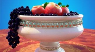 Как нарисовать вазу с фруктами в 2017 году