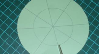 Как начертить круг  без циркуля