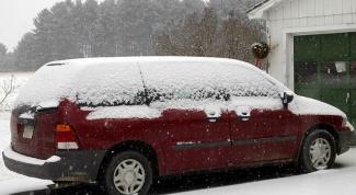 Как открыть машину  в мороз