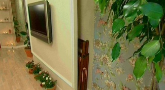 Как встроить телевизор в стену