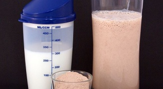 How should you drink protein