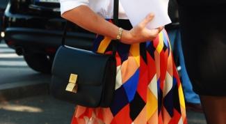 Как носить сумку через плечо