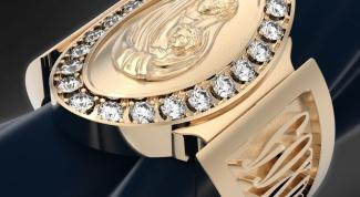 Как носить церковное кольцо