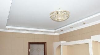 Как отбелить потолок