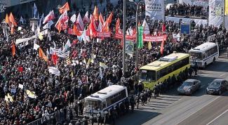 Как прошли майские митинги в Москве