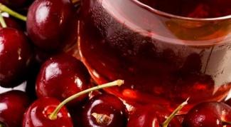 Как отстирать вишневый сок