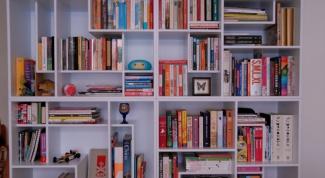 Как сделать книжный стеллаж