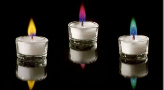 Как отстирать свечку