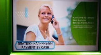 Как оплатить через терминал Сбербанка