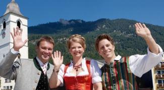 Как одеваться  в Австрии