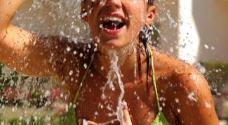 Как обустроить летний душ