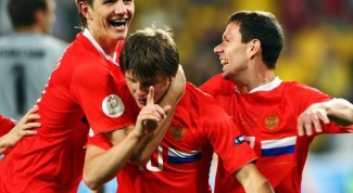 How to get into the national team of Russia on football