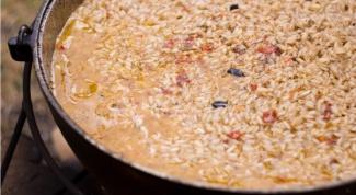 Как готовить узбекский плов на мангале