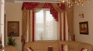 Как подобрать шторы для гостиной