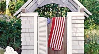 Как сделать летний душ на даче