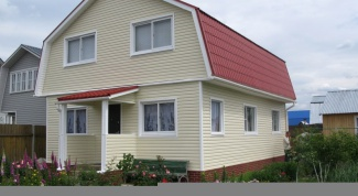 How to sheathe the gable siding