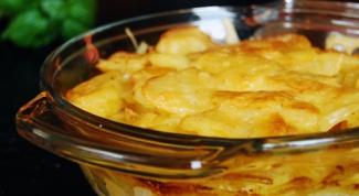 Как приготовить картофельную запеканку с рыбными консервами