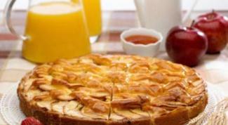 Как приготовить запеканку из яблок