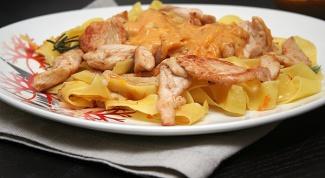Как приготовить пасту с курицей по-итальянски