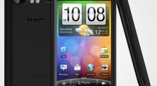 Как установить дату и время на HTC
