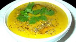 Как приготовить карри-суп с манго, брокколи и имбирем