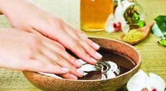 Как очистить руки и ногти после работы в саду