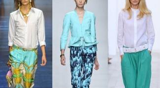 Какие цвета в моде этим летом