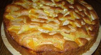Как приготовить сливочный пирог с яблоками