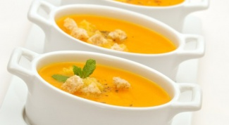 Как сделать морковно-мятный суп