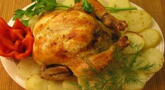Как приготовить курицу с лимоном и картошкой