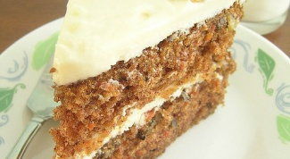 Как сделать морковный торт с грецкими орехами
