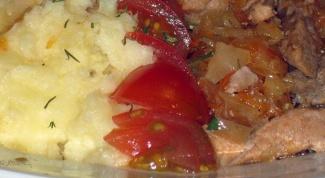 Как приготовить картофельное пюре по-немецки с квашеной капустой