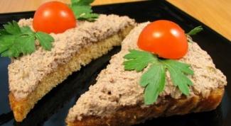 Как сделать ореховый паштет