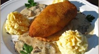 Как приготовить картофельные котлеты по-киевски