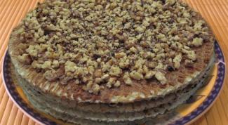 Как сделать вафельно-медовый торт