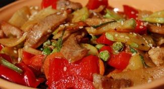 Как приготовить свинину с рисом по-венгерски