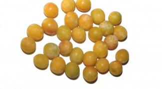 Как варить варенье из желтых слив