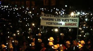 Почему в Испании протестуют шахтеры