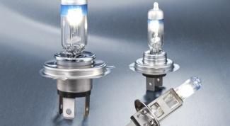 Как ставить лампу для фары