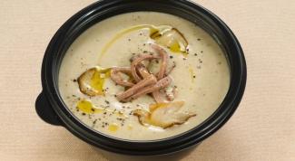Как приготовить мясной суп-пюре