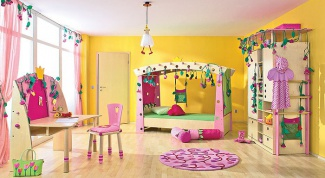 Как придумать дизайн детской комнаты для девочки