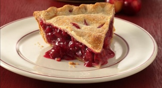 How to bake a cherry pie
