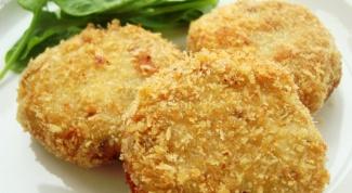 Как приготовить биточки рыбные с фасолью