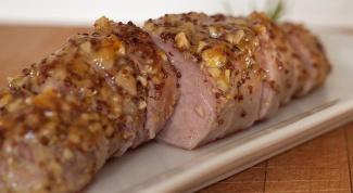 Как приготовить свинину в горчичном соусе