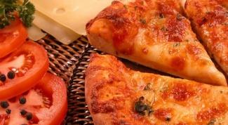 Как приготовить пиццу с колбасой и грибами