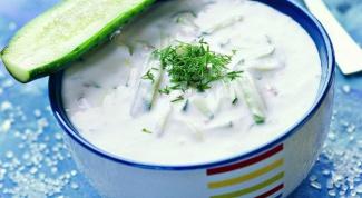 Как приготовить суп с простоквашей