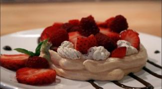 Как приготовить ягодный десерт