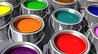 Как отстирать пятна от краски