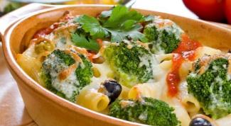 Как сделать макароны с брокколи и томатами